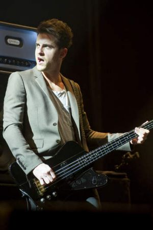 Bassist Jared Followill from The Kings of Leon.