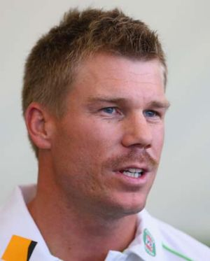 Fined: David Warner.