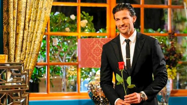 The look of love ...Tim Robards from The Bachelor Australia has fallen for Sydney criminal lawyer Anna Heinrich, 26.