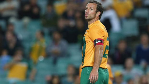 Lucas Neill was booed when the Socceroos played Costa Rica in November.