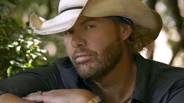 No.4 ... US country music superstar Toby Keith.