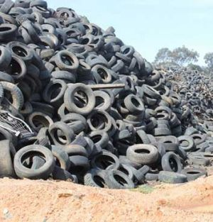 The Stawell tyre dump