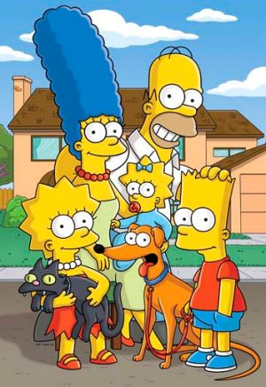 Their signature design on <i>The Simpsons</i>.