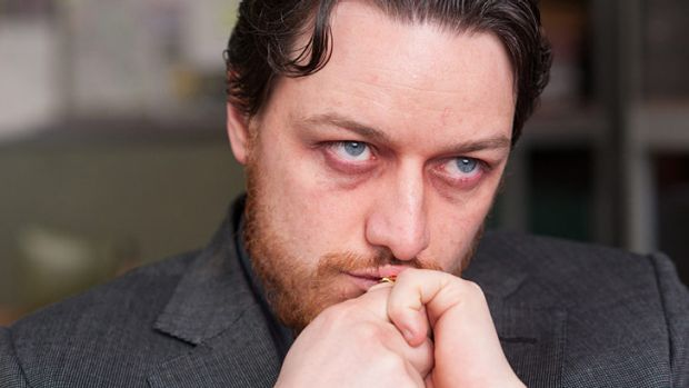 James McAvoy plays drug-fiend Bruce Robertson in <i>Filth</i>.