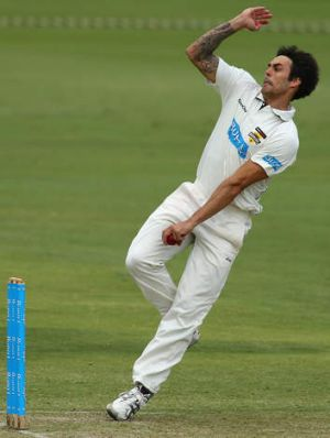 """Give him the freedom to go out there and let loose"": Allan Border on Mitchell Johnson."