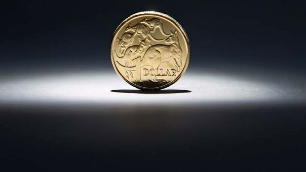 The Australian dollar fell dramatically after the US Fed statement.