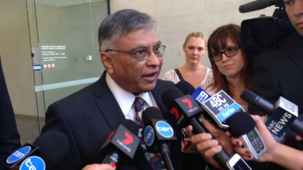 Jayant Patel on leaving court after receiving a wholly suspended jail term.