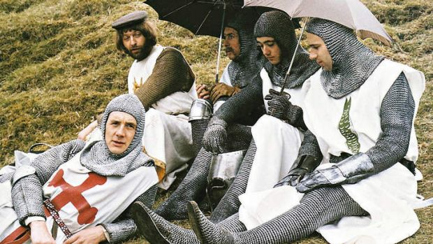 <i>Monty Python And The Holy Grail</i>.