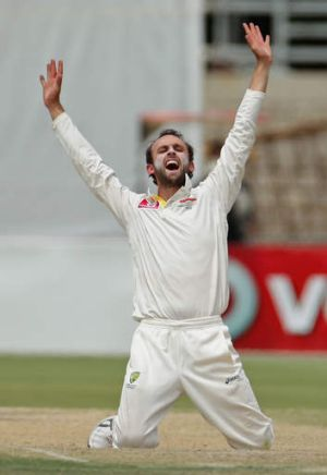Nathan Lyon got the nod over a fourth quick in Brisbane.