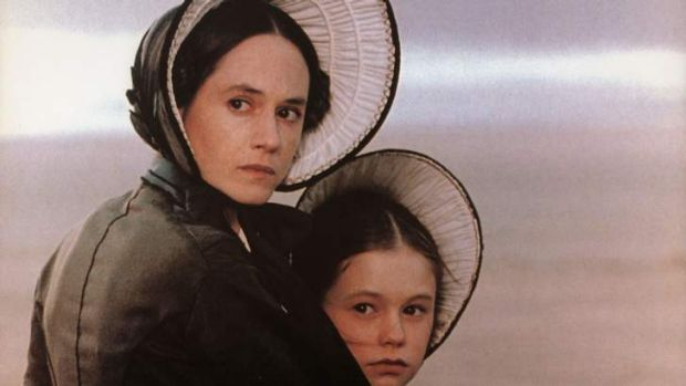 Holly Hunter and Anna Paquin in Jane Campion's <em>The Piano</em>.