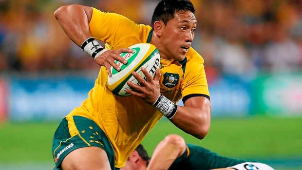 Christian Lealiifano has received help from both Kuridrani and Adam Ashley-Cooper in the lead up to the Test against ...