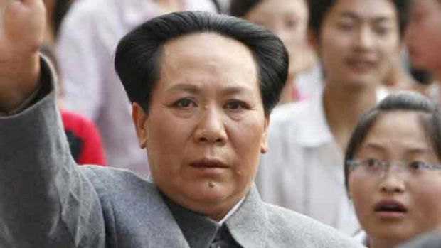 57-year old Chinese shopkeeper Chen Yan has had a profitable career playing a Mao look-a-like.