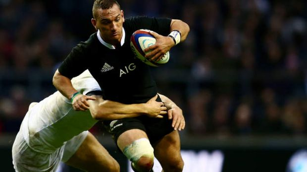 Big shoes well filled: Aaron Cruden has stepped into the breach at five-eighth for New Zealand after Dan Carter was injured.