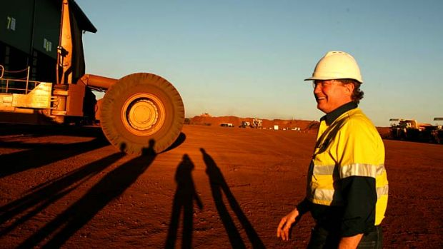 Andrew Forrest's personal fortune has tumbled alongside the steep drop in the price of iron ore.