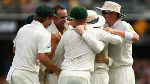 Nathan Lyon proved the selectors made the right choice on Friday.