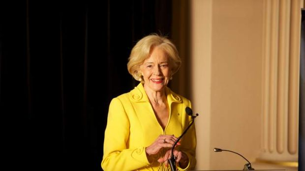 Tribal elder leaving her legacy: Governor-General Quentin Bryce.