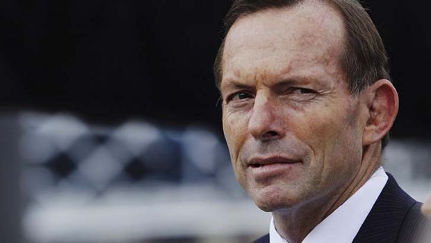 In the firing line: Prime Minister Tony Abbott.