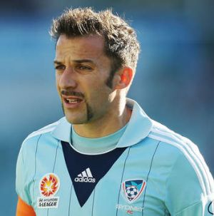 Alessandro Del Piero was his usual busy self.