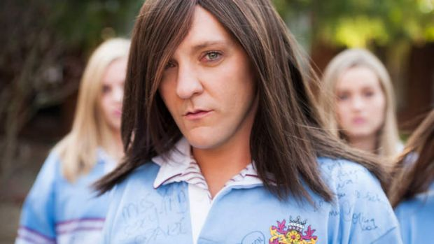 'Mean girl': <i>Ja'mie: Private School Girl</i> starring Chris Lilley has won little fans in the US.