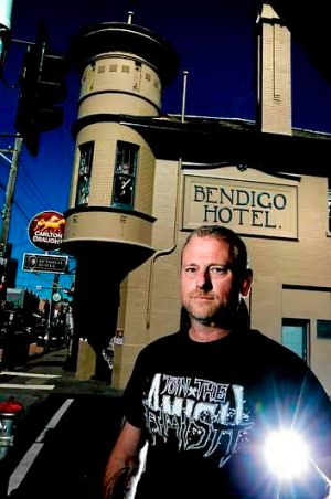 Bendigo Hotel licensee Guy Palermo says the pub depends on live music to survive.