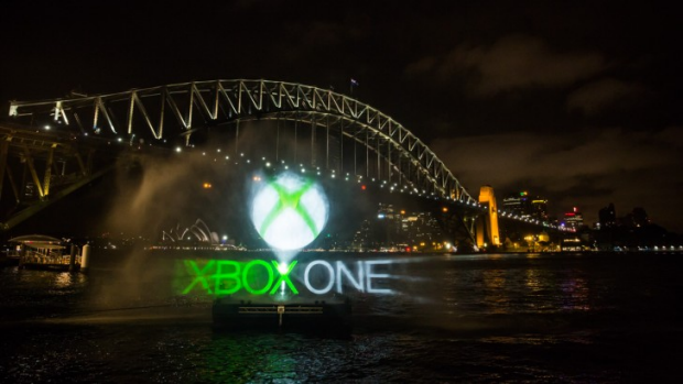 Microsoft put on a lavish light show in Sydney for the Xbox One launch last week.