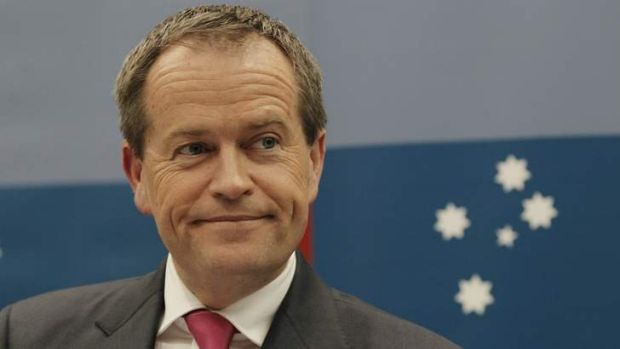 ALP leader Bill Shorten.