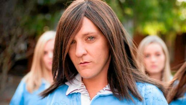 Painful truth: Chris Lilley's Ja'mie is an image-conscious, racist, homophobic, narcissistic succubus.