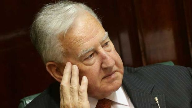 """Former speaker Ken Smith: """"If Mr Shaw goes that is fine by me."""""""