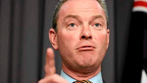 Education Minister Christopher Pyne has defended his decision to scrap Gonski and reduce education funding.