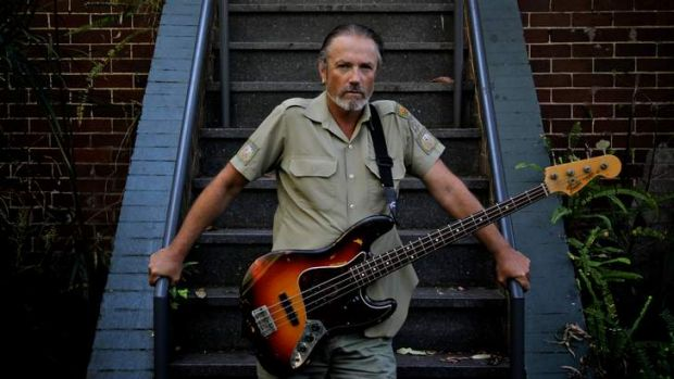 Steve Kilbey, lead singer and bass player for the Australian band The Church.