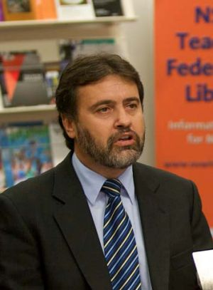 ''The Gonski review ... demonstrate the SES [Socio-Economic Status] is a broken system'': Angelo Gavrielatos.