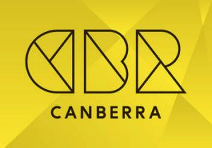 "The new ""Brand Canberra"" CBR logo."