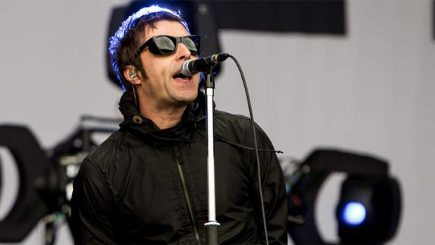 Bitter Blur rival: Liam Gallagher, of Beady Eye, may relish the chance to step up to the Big Day Out plate.