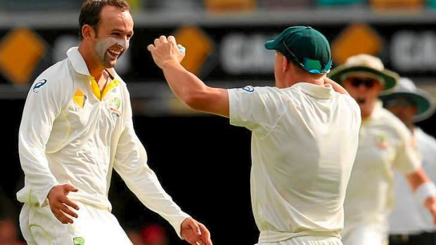 Nathan Lyon's wickets turned the tide in each of England's innings.