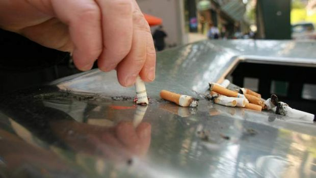Smoking will not be allowed in Perth's Hay St Mall.