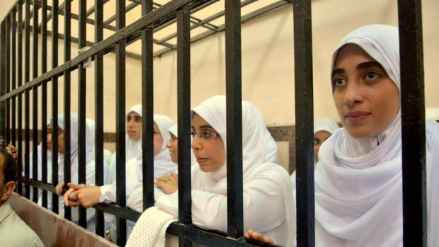 An Egyptian court has handed down heavy sentences of 11 years in prison to 21 female supporters of the ousted Islamist ...