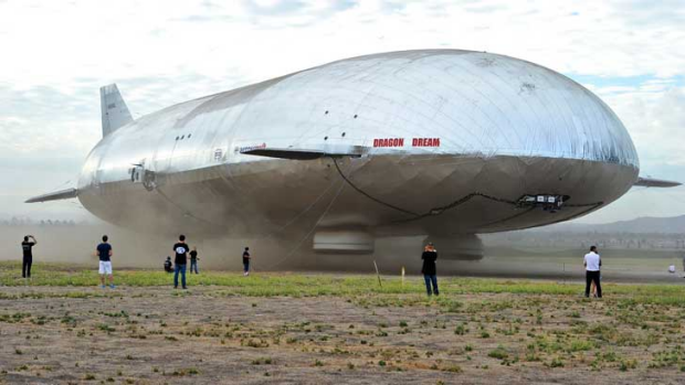 Attention grabbing: Zeppelins are posed to make a return to commercial use.