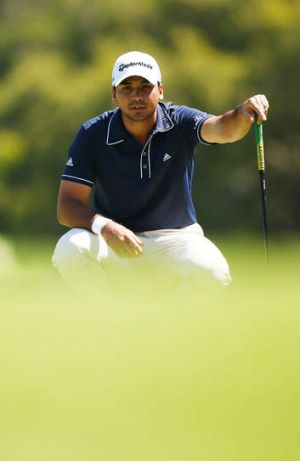Focussed: Australia's Jason Day.