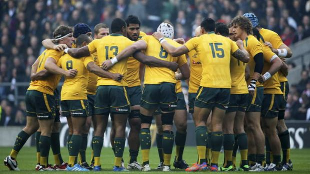 One for all: After a year of division and turmoil, the Wallabies came together on the spring tour.