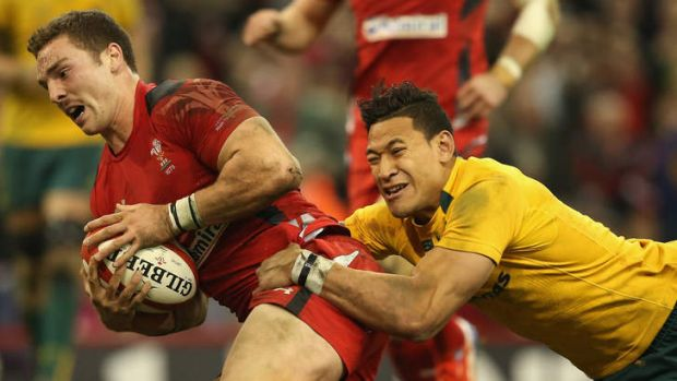 Continuous improvement: Israel Folau won't be content with a stellar first season.