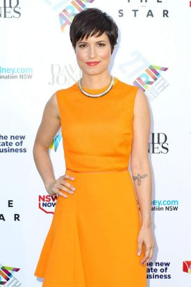 Missy Higgins arrives at the 27th Annual ARIA Awards.