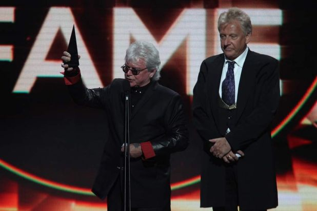 Graham Russell and Russell Hitchcock  - aka Air Supply -  are inducted into the ARIA Hall of Fame.
