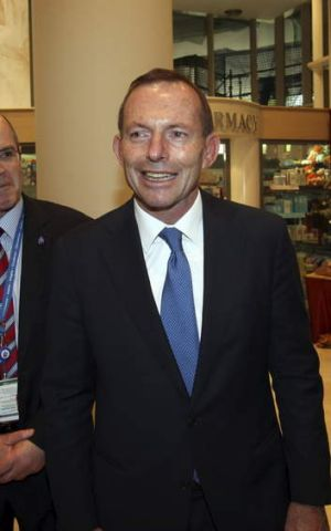 "Compromising comments: Tony Abbott referred to the Greens as ""economic fringe dwellers"" during the election campaign."