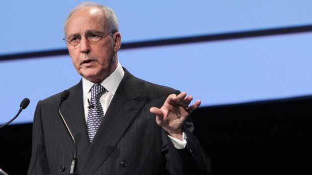 Paul Keating: The former prime minister has dramatically weighed into Victorian politics.