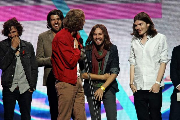 Tame Impala win the Best Group award.
