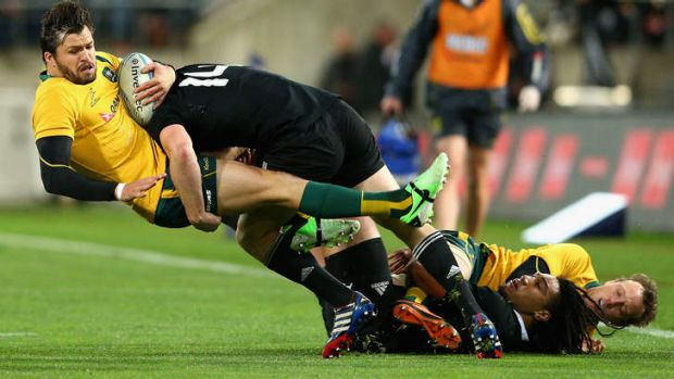 The Wallabies will meet the All Blacks at Eden Park in August.