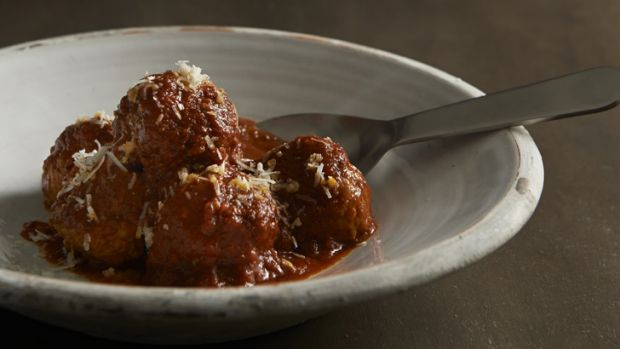 An impressive 30 meatballs were eaten in 60 seconds at the Man versus Meatball competition at  Italian nosherie Lalla Rookh.