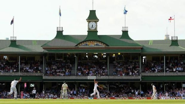 """Even if the Sydney Cricket Ground was the last cricket ground in the world that had a traditional wicket it would ..."