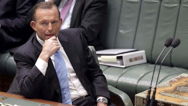 """""""If that means we have to keep the Parliament sitting, we'll just have to do it"""": Tony Abbott."""