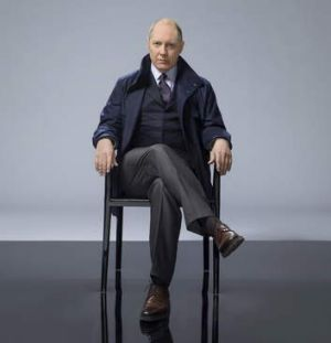 James Spader in <i>The Black List</i>.